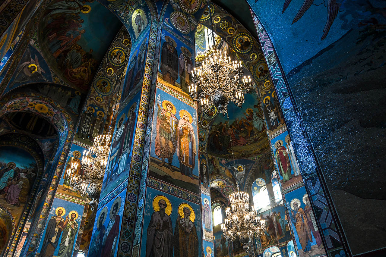 Spilled blood cathedral
