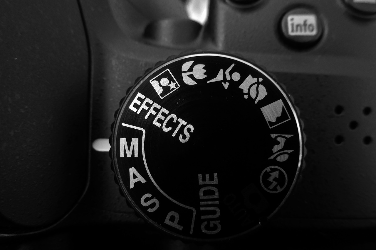 Camera in manual mode